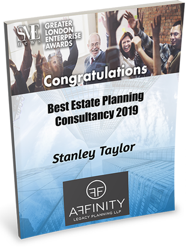 Award for Best Estate Planning Consultancy 2019